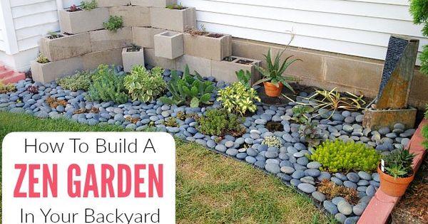 How To Make A Diy Zen Garden In Your Backyard Indoor Zen Garden Zen Garden Design Zen Garden