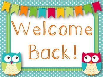 Owl Themed Welcome Back Printable (Freebie!)   Owl theme classroom,  Printables freebies, Owl classroom