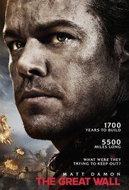 The Great Wall 2016 Action Adventure Fantasy 17 February