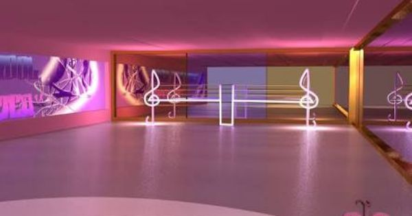 neon dance studio interior design google search studio