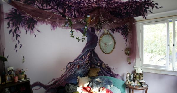 painted tree wall - Google Search