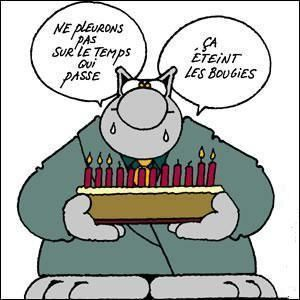 Joyeux Anniversaire Philippe Geluck Humour Anniversaire Carte