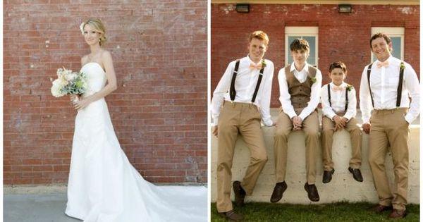 Wedding Gift For Junior Groomsmen : men attire Bow tie and suspenders for Junior Groomsmen???? : wedding ...