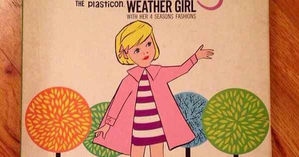 Vintage Rare Wendy the Weathergirl Weather Girl Early ...