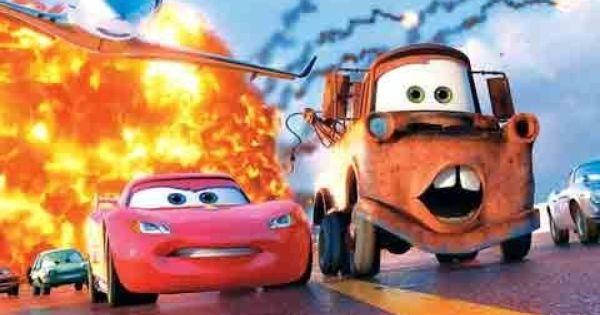 فيلم كرتون عربيات السباق كارز Cars الجزء الاول برق بنزين وماطم بالعربي Cartoons Youtube Cartoons Full Movie Cartoon