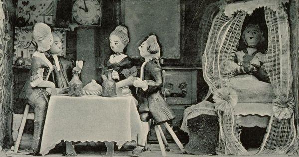Chambre de poup es strasbourgeoise du xviiie si cle for Cuisine xviiie siecle