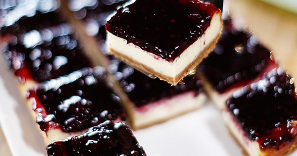 Pioneer Woman on Food Network! | More Blackberry cheesecake, Cheesecake squares and Ree drummond ...