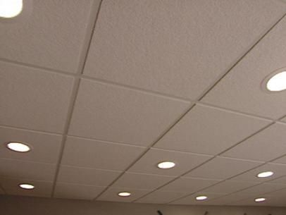 How To Install An Acoustic Drop Ceiling Drop Ceiling Lighting Dropped Ceiling Acoustical Ceiling