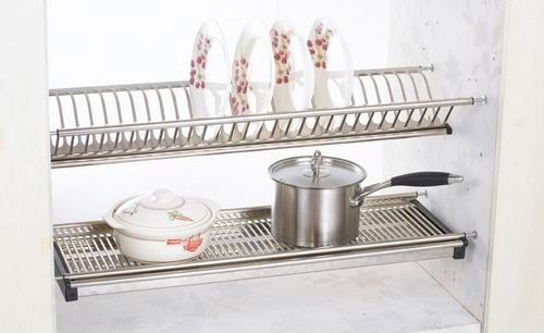 Hcj716 Kitchen Wall Mounted Dish Rack Buy Kitchen Dish Organizer Stainless Steel Dish Rack Wall Mounted Dish Rack Drying Rack Kitchen Plate Racks In Kitchen