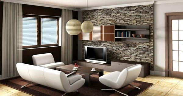 ehrfurchtiges natursteinwand wohnzimmer inserat bild oder eafeccdebbb
