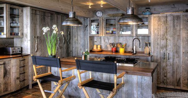 Rustikal modern küche  Rustikal Küche Kücheninsel - Moderne Küche | Aequivalere | Küche ...