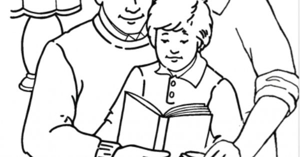 Gay Pride- Family Coloring Pages