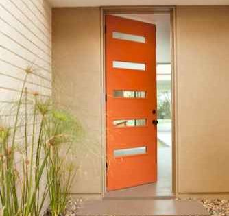 100 Unique Front Doors Colors Design Ideas 53 Mid Century Modern Door Modern Exterior Doors Modern Garage Doors