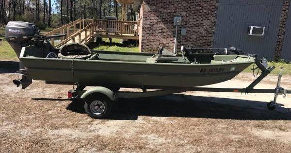 87 Duracraft 12 1800 Tabor City Nc Boat Jon Boat Trolling Motor