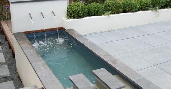 Vijver als dompelbad vijver pinterest met en tuin - Claustra ontwerp pour terras ...