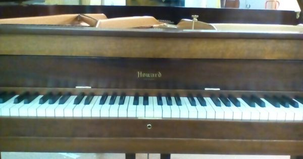 Howard Baby Grand Refinish Piano Piano Music Instruments