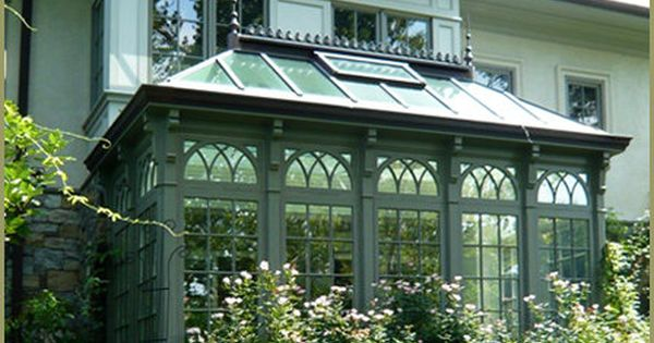 Victorian Conservatory Palm House By Tanglewood