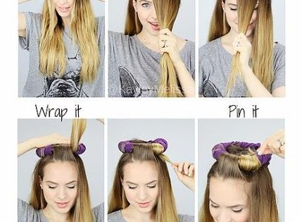 Overnight Heatless Curls! These look just like curling iron curls or waves!