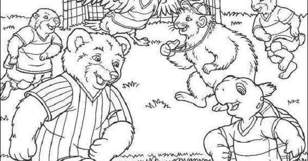 franklin and friends coloring pages | Franklin & friends play soccer | Soccer Coloring Pages ...