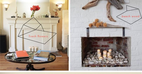 Dressing Up Your Fireplace Mantle Dressing Your