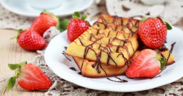 وافل مع صلصة الشوكولاتة Recipe Arabic Sweets Recipes Sweets Recipes Food