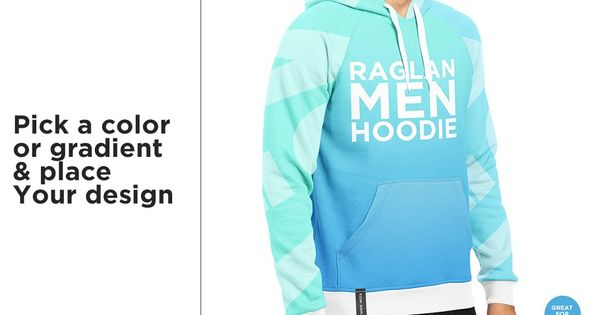 Download Men Hoodie Raglan Classic Mock Up Hoodies Men Mocking Shirt Mockup