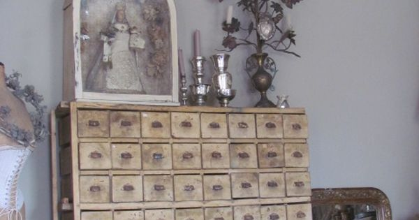 Comnew Homes Interiors : on Antiques Pinterest Drawers, Apothecaries and Vintage Home Decor