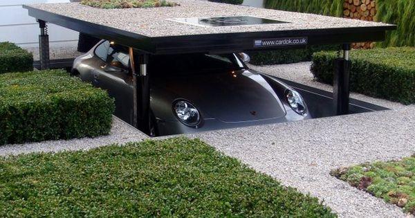 Cardok Underground Home Parking System Underground parking is not a new idea