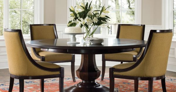 Sienna round dining table and chairs by brownstone furniture tables breakfast nook - Comedores minimalistas ...