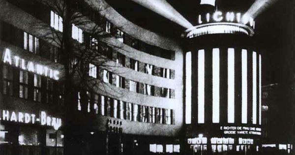 Lichtburg Gesundbrunnen Berlin Berlin Dark City German History