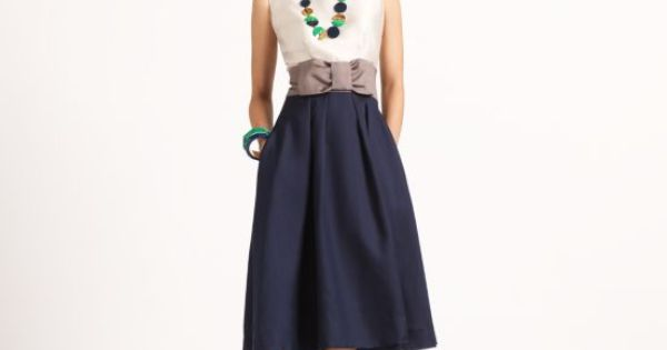 Kate Spade dress. Bow belt is adorable