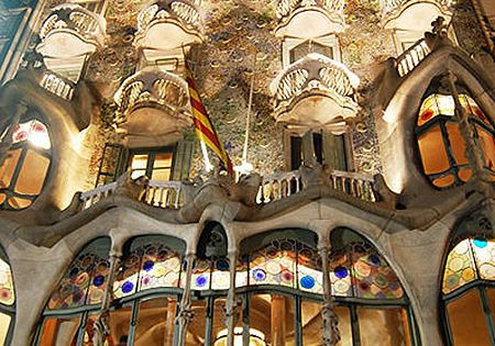 Amazing Architecture Of Antoni Gaudi, Barcelona Spain