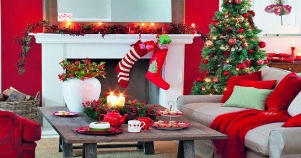 4 ideas decorativas para una sala en navidad en navidad - Ideas decorativas navidenas ...