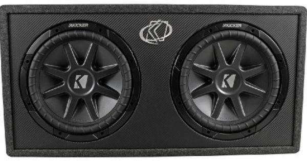 Brand New Kicker 10dcvr122 Dual 12 Comp Vr Loaded Subwoofer