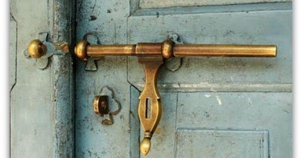 Vintage door latch