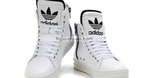 adidas long shoes white
