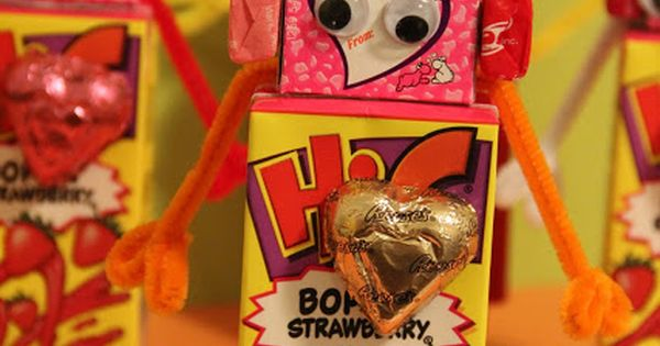 Valentines robots are too cute and I do love some googly eyes