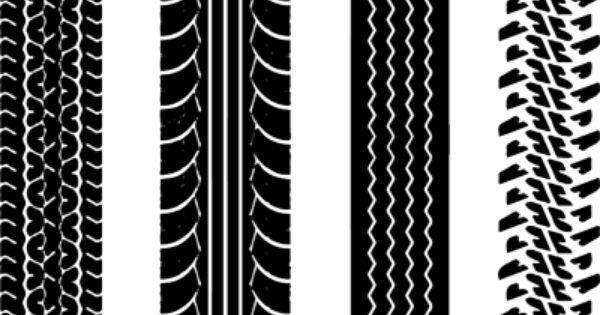 Tire Tracks Psd6092 Png 400 255 Pneus Trilhas Monograma