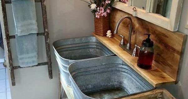 Smart Ways To Reuse and Repurpose Galvanized Tub & Buckets ...