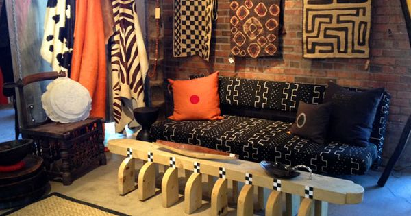 African home decor african contemporary craft tribal for Funky home decor south africa