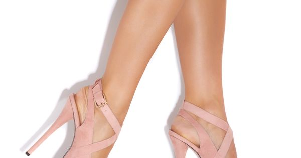 Blush Platform Pumps; different color though.