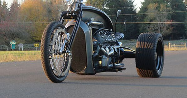 Custom Built Motorcycles : Other Ford Flathead V8 Trike ...