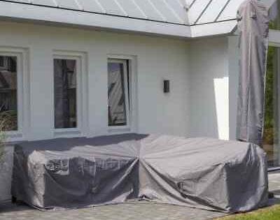 Madison Housse De Meubles D Exterieur 255x255x70 Cm Couverture Bache Jardin Meuble Exterieur Mobilier De Salon Chauffage Exterieur