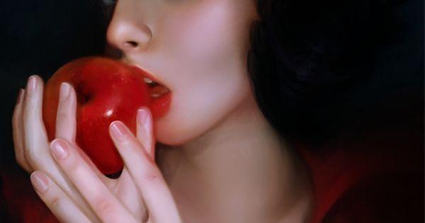 Real life Snow White.