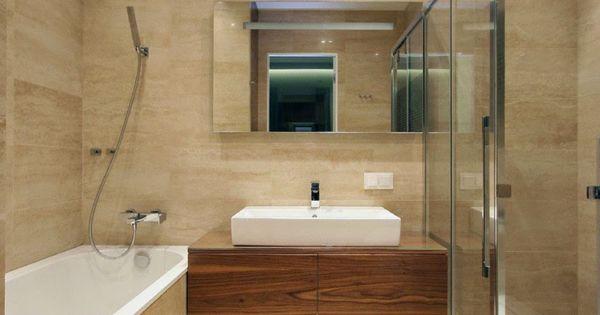 Casas minimalistas y modernas apartamentos modernos - Banos de casas modernas ...