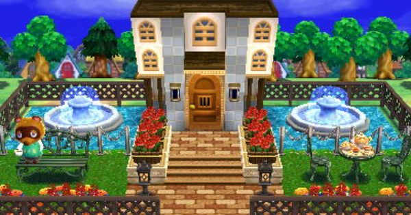 Animal Crossing Happy Home Designer Tom Nook Nook 39 S Mansion Visit In Game 0395 7719 955