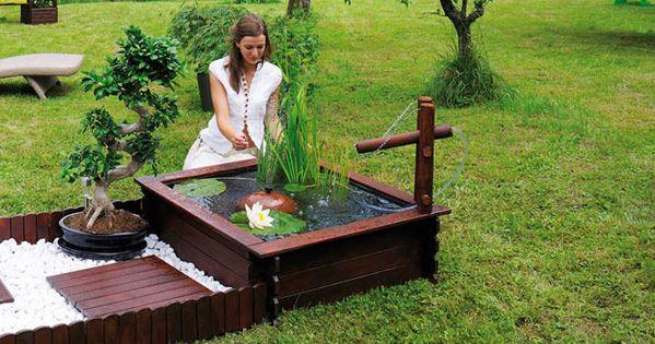 Pour Agr Menter Le Jardin On Installe Un Bassin Avec Des Poissons Voici Cinq Bassins De Jardin