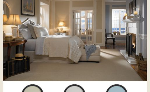 25 Chic And Serene Green Bedroom Ideas: Our East Coast #beach Themed #bedroom #BEHRPaint
