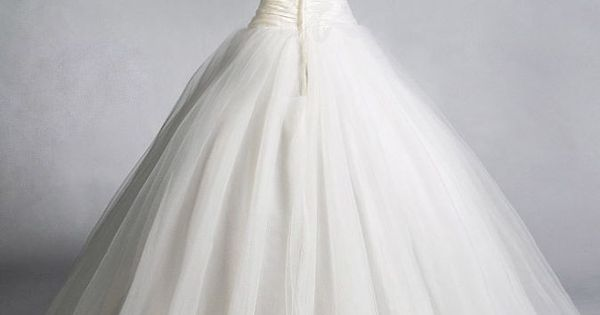 ... > Bride > Tulle Strapless