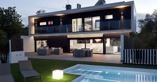 casa hds vall hormipresa casa nueva pinterest fachadas casas modernas casas modernas y fachadas